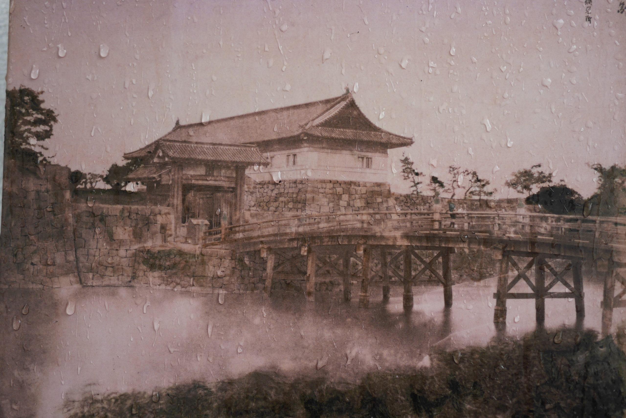 江戸時代の常磐橋御門