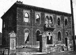 煉瓦造りの建物