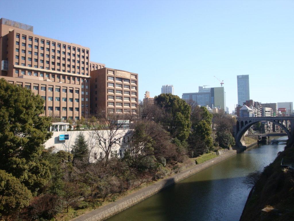 お茶の水橋から聖子橋