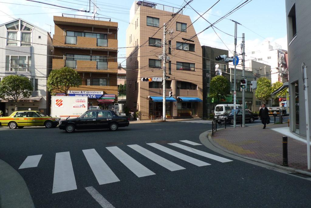 菊坂下信号