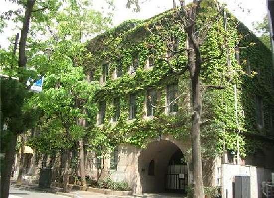 ありし日の文化学院の校舎