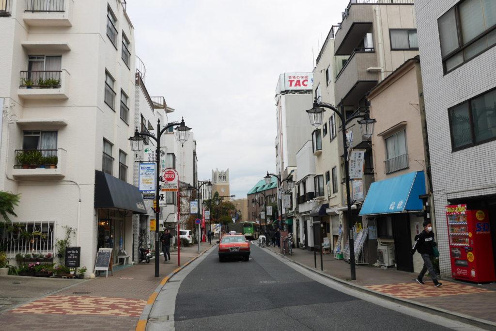 早稲田南門通り